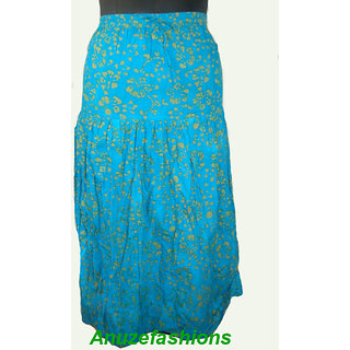 NOW! The Brand New Long Skirt For Summer Cool  Desigen Cotton