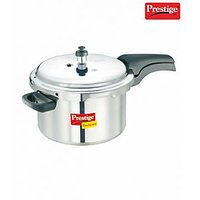 Prestige Deluxe Plus Aluminium Polished Cooker- 5 Ltrs - 391578