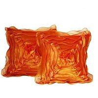 Floral Cushion Orange(5 Pcs Set)