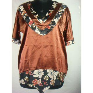 Anuze Fashions Top Selling Brand New V Neck  Sation Designer Top Dress