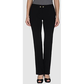 Versace-Designer Black Regular Fit Trouser