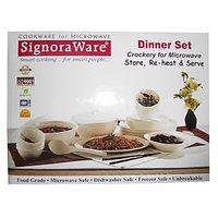 Signoraware Designer Series Dinner Set ( Round ) 31pcs.