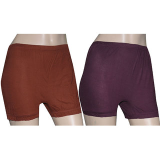 Poliss Dark Color Plain Shorts