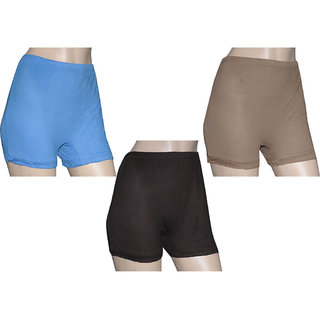 Poliss Light Color Plain Shorts (Option 3)