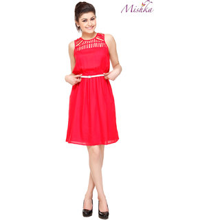 Mishka Red Charming Dress