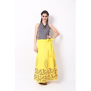 RangDesi Printed Cotton Long Skirt
