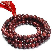Red Sandalwood (lal Chandan) Mala  108 Beads Religious Rosary (Japa Mala)