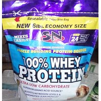 100 % Whey Protein SN 6lbs Ultra Low Carbohydrate Whey Protein Chocolate
