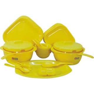 45 Pc. Microwave Safe Dinner Set (Dishwasher Safe)