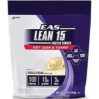 EAS Lean 15 Protein Powder - Vanilla Cream - 3.4 Lbs With Free Shaker [CLONE]