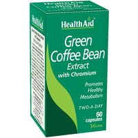 HealthAid Green Coffee Bean Extract With Chromium - 60 Capsules
