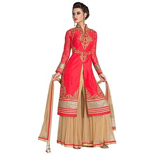 5c478378fa Buy Salwar Suits -Suit Cotton plazo kurti for Women Online @ ₹3500 ...