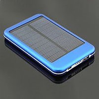 5000 MAh Solar Mobile Charger + Power Bank