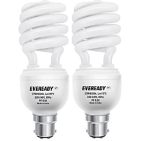 Eveready ELS 27W CFL (Pack of 2) White Image