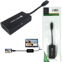 Storite Micro USB To HDMI Adapter Cable HD TV HDTV Cell Phone Or Samsung Galaxy
