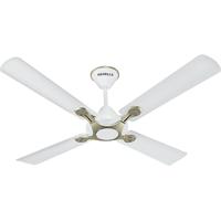 Havells 1200 mm Leganza 4B Ceiling Fan Pearl White Silver