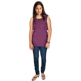 American Crepe  Ladies  Sleeveless Top