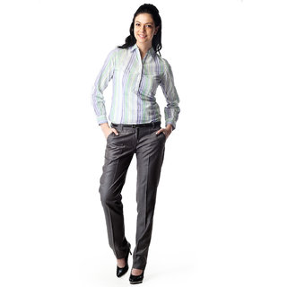 WoMen's Slim Fit Formal Shirt Option 13