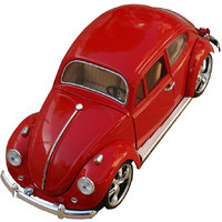 1:18 Scale Die Cast Volkswagaon New Beetle Rc Toy Model Car Red