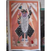 Beautiful Painting of Lord Shrinathji (Amavasya Darshan - WITHOUT FRAME)