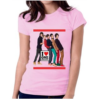 I Love One Direction T-Shirt Pink