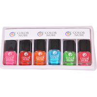 Color Nube Nail Paint- Set Of 6