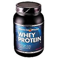 Muscle Blaze Whey Protein 1Kg Chocolate (free Wristband Pair)