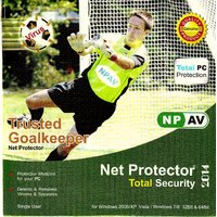 Net Protector 2014 Total PC Protection AntiVirus + Internet Security