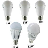 Combo Pack of LED Bulbs (3W,5W,7W,10W,12W) Image