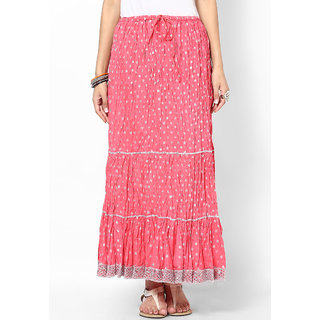 Rajasthani Sarees Modish Cotton Jaipuri Long Skirt