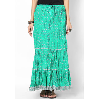 Rajasthani Sarees Voguish Cotton Jaipuri Long Skirt