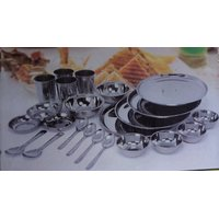 Stainles Steel Dinner Set 24 Pcs Dinner Set