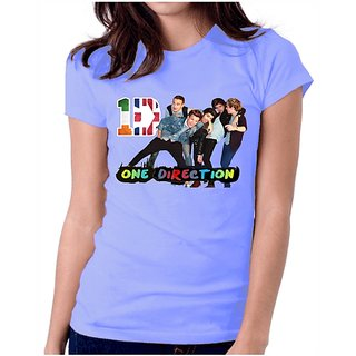 Indo American One Direction T-Shirt Sky Blue
