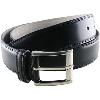 Men's Leather Belt - Black