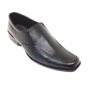 Randier Stylish Men's Black Formal Shoes