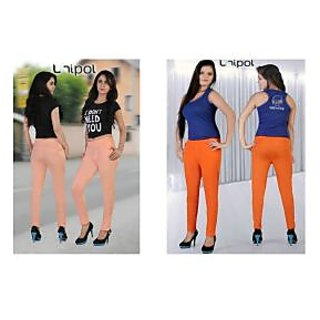 UNIPOL HI-FASHION JEGGINGS Combo2 Light Orange/Orangre