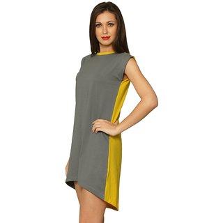 Tea For Two T-Shirt Dress(Design 9)