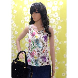 Style-Wave-top-summer-special-multicolour-sleeveless-top-with-golden-effec
