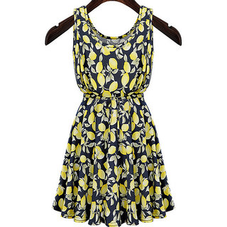Rc Fashion Casual Sleeveless Mini Dress