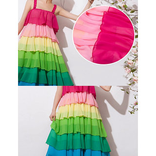 Rc Beach Rainbow Full One-Piece Dress