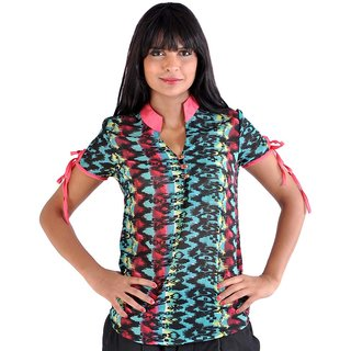 Younky Multicolor Lovely Top In Lace