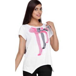 Esprit Cotton Women T-shirt ETE-170309911 White