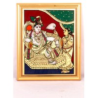 God and Goddess Photos in Tanjore Painting
