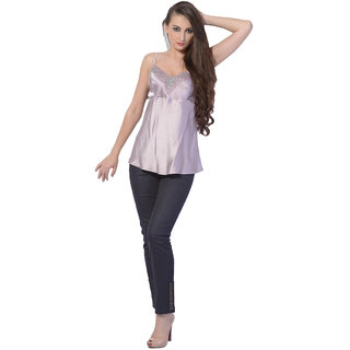 Trendy Divva Ex-68 Purple Top