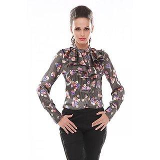 Trendy Divva TS-SHF14-03 Multi Print Shirt