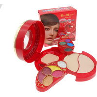 Kiss Tuch Makeup Kit High Quality With Eyeshadow & Lip Gloss 2 Way Cake K6019