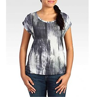 Levi's Women's ABSTRACT DIGITAL PRINT TOP