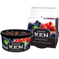 Areon Ken Car,Home,Office Air Freshener Black Currant Flavor.