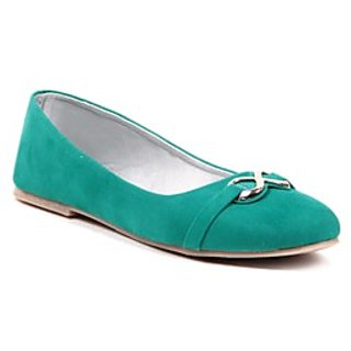 Pari Stylish Green Women's Bellies
