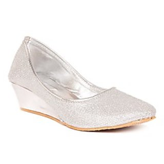 Pari Stylish Silver Women's Bellies